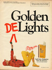 1981 Vintage ad for Golden Lights Deluxe 100's Cigarettes/80's Fashion (041613)
