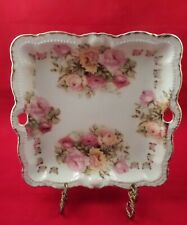 Rose Pattern Plate from Bavaria - Pre-WWII