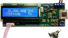 DDS AM LW/MW/SW TRANSMITTER MODULATOR 100KHz-30MHz AUTO LPF/BPF