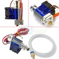 Metal J-head V6 E3D Hotend 1.75mm/0.4mm Nozzle Bowden Extruder Reprap 3D Printer