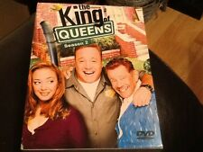 THE KING OF QUEENS - COMPLETE SEASON 2 - (DVD Box Set) - REGION 2 EUROPE ISSUE