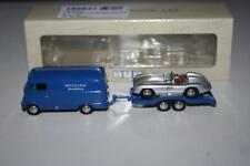 Bub 1:87: 06811 Mercedes-Benz L 319 mit Hänger, MB Rennabteilung, OVP