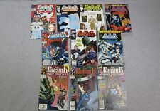 Marvel The Punisher Comic Book Lot War Zone 1  War Journal 11 12 17 Annual 1
