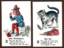 Antique Fairy Tales game cards Mullord, England from 1896