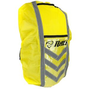 Netti Reflective Waterproof Backpack Cover - Yellow High-Visibility