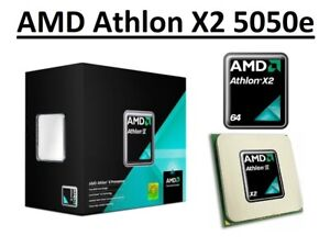 AMD Athlon X2 5050e Dual Core Processor 2.6 GHz, Socket AM2, 45W CPU
