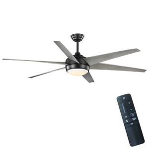 Home Decorators Collection Windward 68 in. Integrated LED In/Outdoor Ceiling Fan