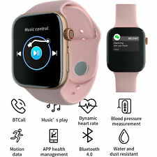Women Bluetooth Smart Watch Fitness Tracker For Samsung S20 S10 S9 S8 LG G7 G8