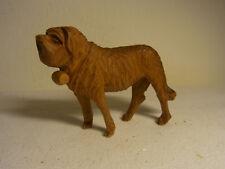 Vintage German Carved Wood Saint Bernard Dog #E