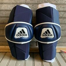 New Adidas Freak Flex Lacrosse Arm Guard Elbow Pads Blue White Navy Size Xl