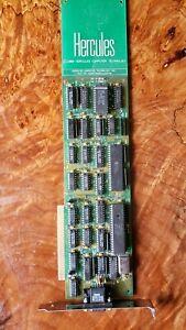 Hercules 8Bit Graphics card ISA