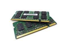 4GB (2x2GB) PC2-5300 667MHz Memoria RAM para computadora portátil 200Pin DDR2 Sodimm