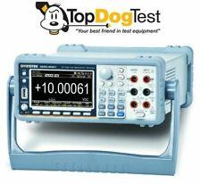 GW Instek GDM-9061 6 1/2 (1,200,000 counts) Digit Dual Measurement Multimeter