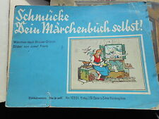 Josef Frank: Schmücke dein Märchenbuch selbst! Märchen, Nürnberg-Doos Spear
