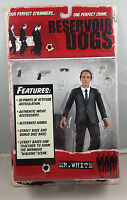 Reservoir Dogs Mr White Action Figure by Mezco Toys NIB Harvey Keitel 2001