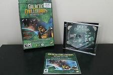 Galactic Civilizations Deluxe Edition (PC, 2004) *Tested