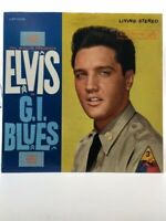 "ELVIS PRESLEY ""G.I. Blues"" 1960 High Grade RARE LIVING STEREO LP on RCA 2256 NM"