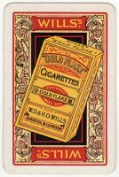 Playing Cards Single Card Old GOLD FLAKE Cigarettes Packet Advertising Tobacco 5