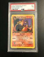 2000 Pokemon 1st Edition Rocket #21 Dark Charizard - Non Holo -  PSA 7