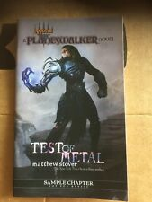A Planes Waker Novel Test Of Metal MAGIC THE GATHERING Sample Chapter Matthew