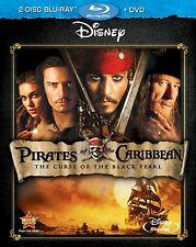 Pirates of the Caribbean: Curse of the Black Pearl (DVD,2003)