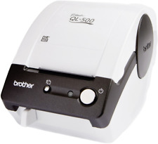 Brother QL-500BW Etiketten-Drucker Thermodirekt 300 x 300 dpi Etikettenbreite (m