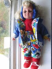 DOLL SIMBA WITH OPEN & CLOSE BLUE EYES & BLONDE HAIR JOGGING SUIT & SNEAKERS