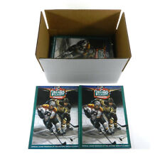 Lot of (10) 2010 Boston NHL Winter Classic Official Game Programs