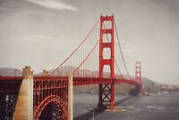 A1 | Golden Gate Bridge Poster Art Print 60 x 90cm 180gsm San Francisco #8206