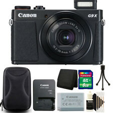 Canon PowerShot G9 X Mark II 20.1MP Digital Camera with 8GB Accessory Bundle