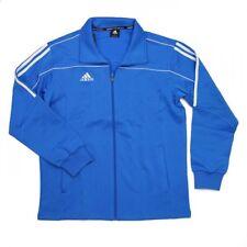 NEW adidas Martial Arts Track Suit Jacket Gym Taekwondo Karate MMA-BLUE/WHITE
