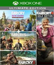 Far Cry 5 , 4 , 3 , New Dawn Ultimate Bundle Xbox One (no code,no disc)