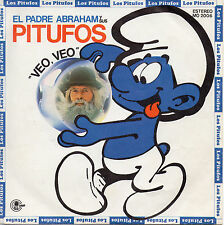 "The Father Abraham and his smurfs ""see see"" rare spanish 7"" vinyl/the dynamic duo"