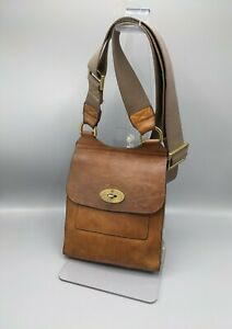 Mulberry Antony Small Messenger in Oak Leather