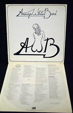 LP: Average White Band AWB (1974) Atlantic SD 19116 BEAUTIFUL CONDITION
