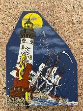 """Rare! 2000 Cat'S Meow """"Shipwreck Point Lighthouse"""" Halloween Limited! Free S/H!"""
