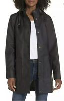 UGG Australia RYLIE Rubber Trench Jacket Raincoat Women's Sz XL MSRP $250.00.