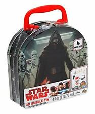 DISNEY Star Wars Collectible Tin.Box Set 3D Images Bubbles Stormtrooper Kylo Ren