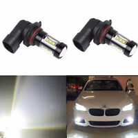 2X 9006 HB4 SMD 80W LED High Power 6500K White Fog Driving Light Bulbs 950LM CHY