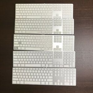 Lot Of 5 ~ Genuine Apple OEM ~ Apple Wired Keyboards ~ A1243 ~ MB110LL/B