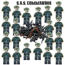 SAS Navy Seals Commandos Military Army Soldiers 20 Figure Set Blocks Fit Lego