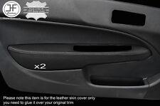 Puntada Gris 2X Puerta Apoyabrazos Cuero Cubre se ajusta a Honda Civic EK3 EK4 EJ9 96-00