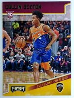 2018-19 Panini Chronicles Playoff Green Collin Sexton Rookie RC #193, Parallel