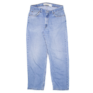 Vintage LEVI'S 550 Blue 90s Denim Relaxed Straight Jeans Mens W32 L32