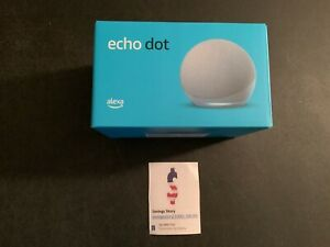 Amazon Echo Dot (4th Gen) Smart speaker with Alexa Twilight Blue - IN STOCK!