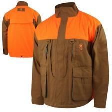 Browning Upland Field Hunting Jacket - Sz. M L XL 2XL 3XL - Rugged Cotton Canvas