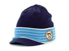Pittsburgh Penguins NHL Reebok Navy Blue Knit Visor Hat