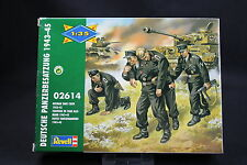 XP071 REVELL 1/35 maquette figurine 2614 Equipage de char allemand 1943 45 WWII