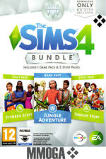 The Sims 4 Jungle Adventure + Toddler Stuff + Fitness Stuff Bundle - PC/MAC - CA