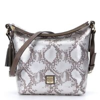 NWT Dooney & Bourke Kitney Python Leather Dixon Crossbody Shoulder Bag New  $248